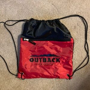 Outback Steakhouse swag bag